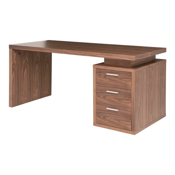 Benjamin Office Desk (Walnut)