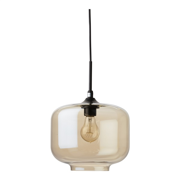 Charles Pendant Lamp (Smoked Grey)