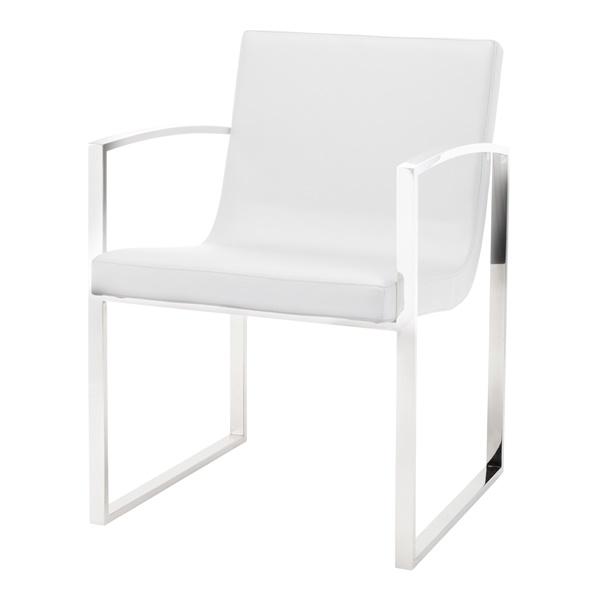 Clara Dining Chair - Black/Silver
