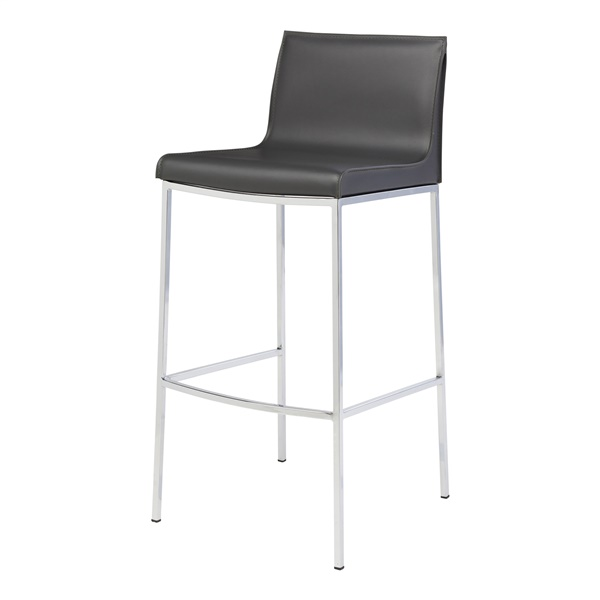 Colter Bar Stool (Dark Grey)