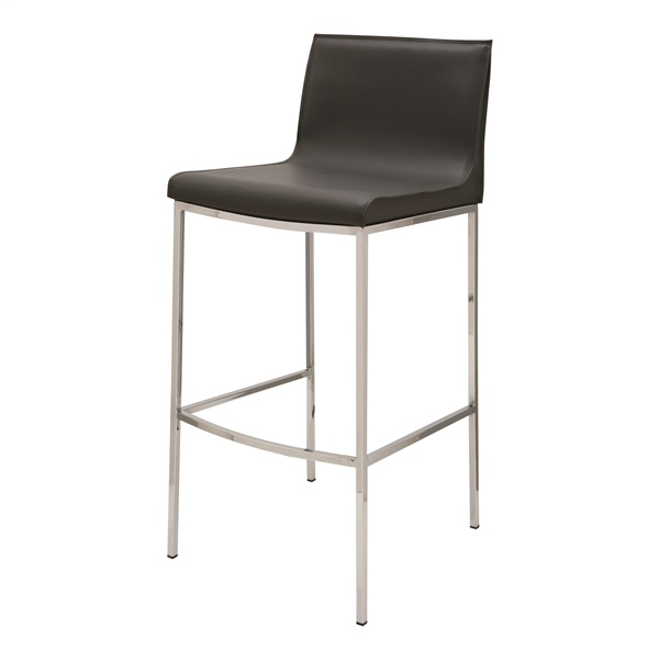 Colter Counter Stool (Dark Grey)