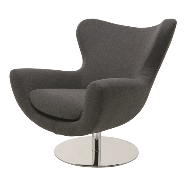 Conner Lounge Chair (Light Grey)