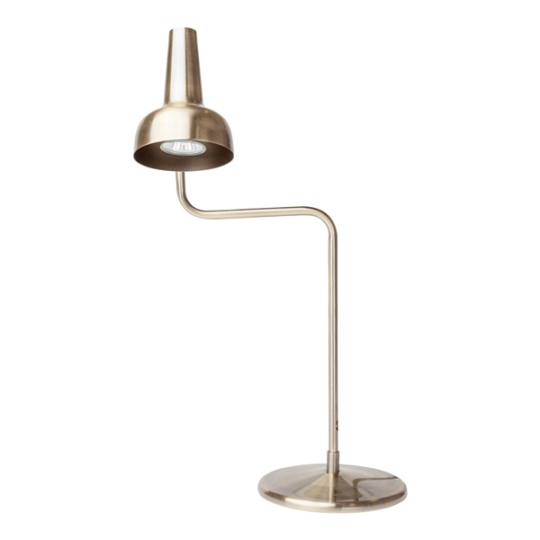 Emmett Antique Brass Table Lamp