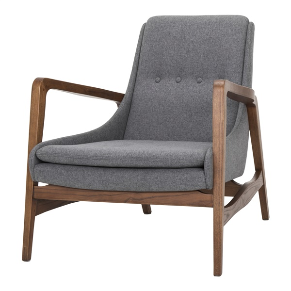 Enzo Accent Chair (Ash Gray)