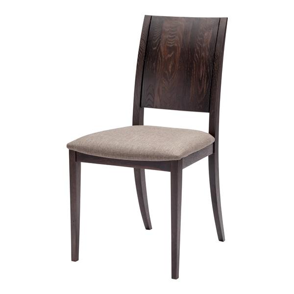 Eska Dining Chair - Brown/Seared