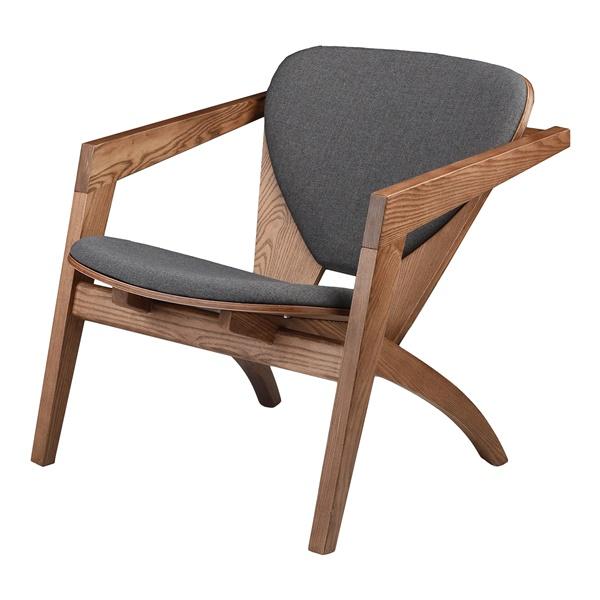 Freya Accent Chair (Gray)