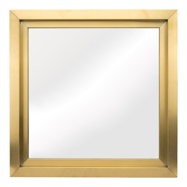 Glam Square Wall Mirror - Gold (Small)