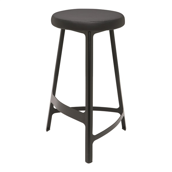 Hyku Counter Stool (Black)