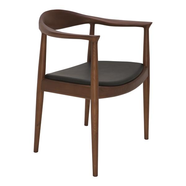 Johan Dining Chair - Black and Walnut