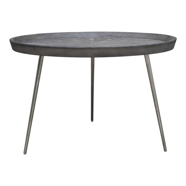 Josephine Coffee Table (Black / Matte Brass)