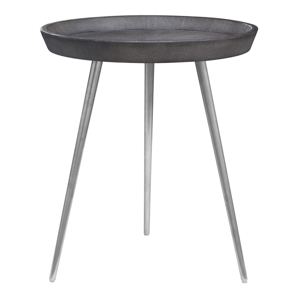Josephine Side Table (Black / Matte Brass)