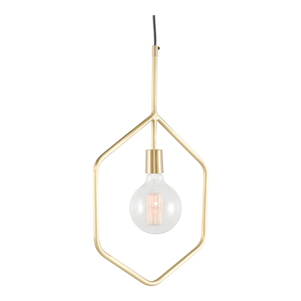 Jude Pendant Lighting (Matte Brass)