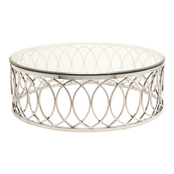 Juliette Coffee Table - Silver