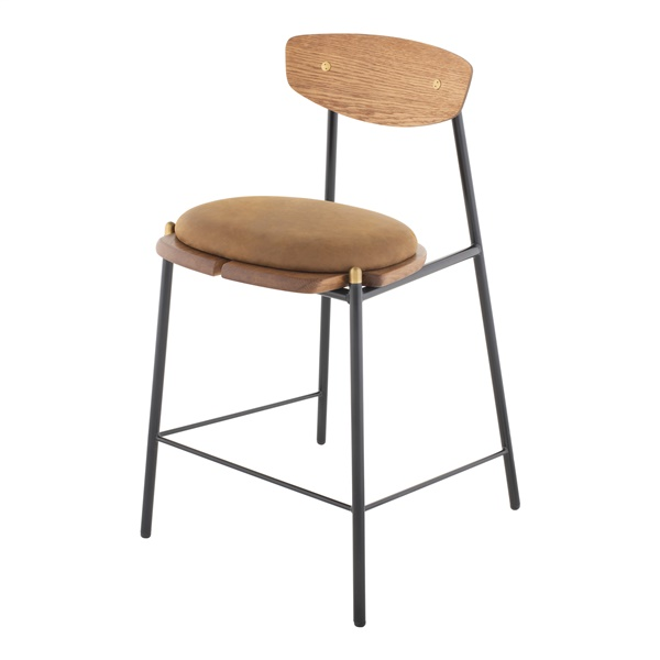 Kink Counter Stool (Umber Tan)