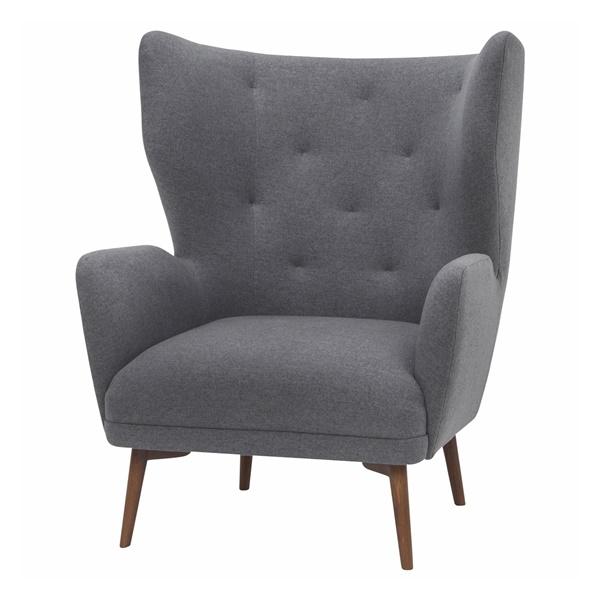 Klara Accent Chair (Shale Gray)