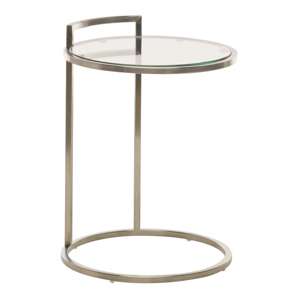 Lily Side Table (Silver)