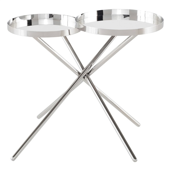 Olivia Side Table (Silver)