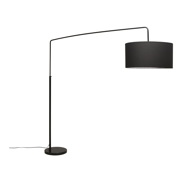Raku Floor Lamp (Black)