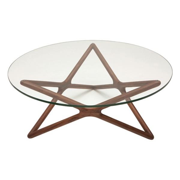 Star Coffee Table (Walnut)