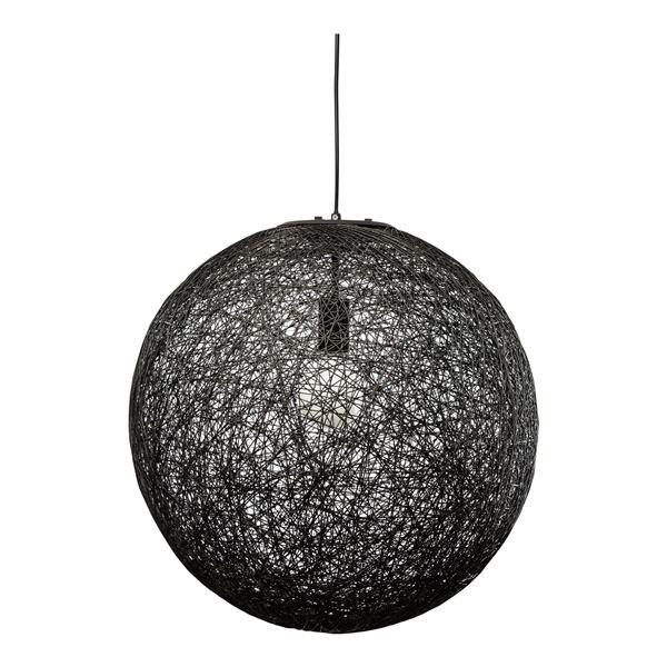 String Pendant Lamp (Black/20 inch)