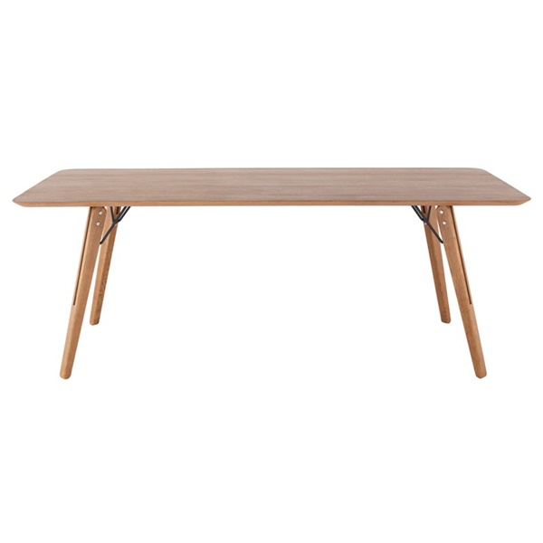 Theo Dining Table - Hard Fumed