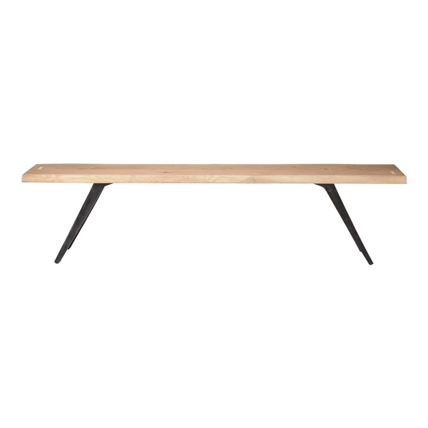 Vega Dining Bench (Raw Oak / 75in.)