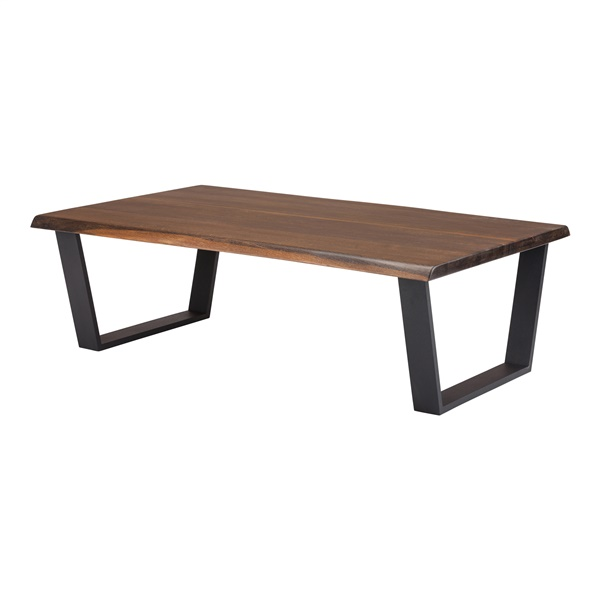 Versailles Coffee Table (Seared Oak/Black)
