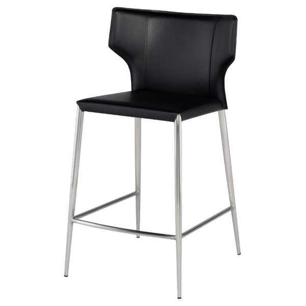 Wayne Counter Stool (Black)
