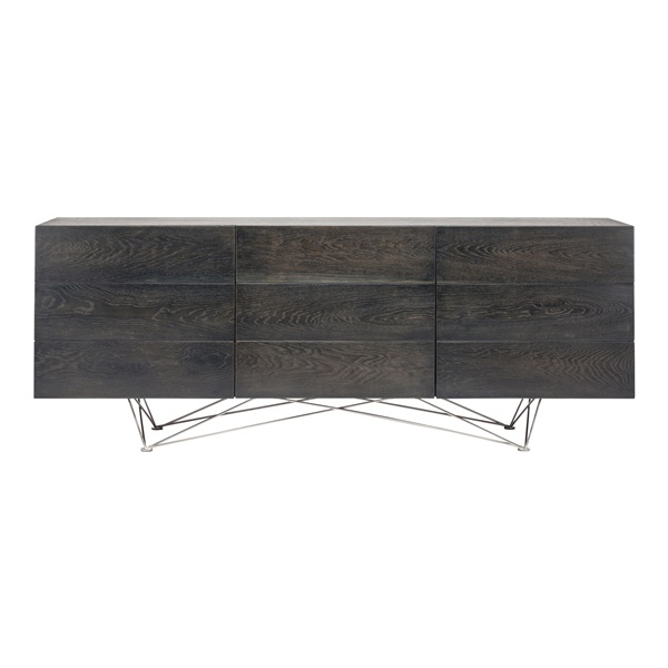 Zola Sideboard Cabinet - Ebonized