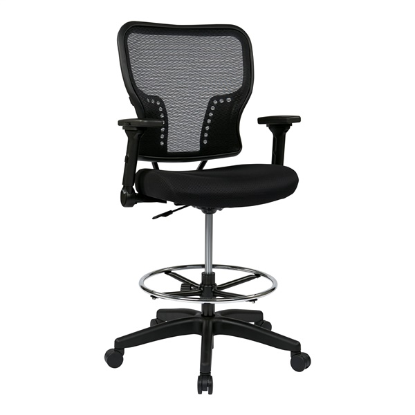 Deluxe AirGrid Back and Padded Mesh Seat Chair
