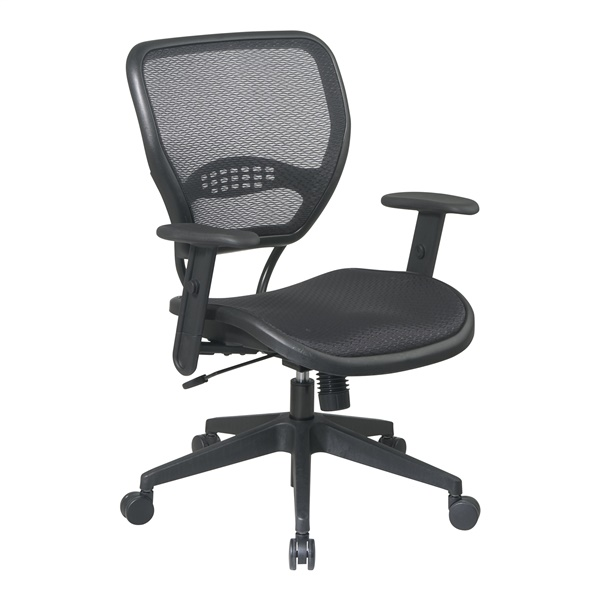 Deluxe Black AirGrid Seat and Back Task Chair