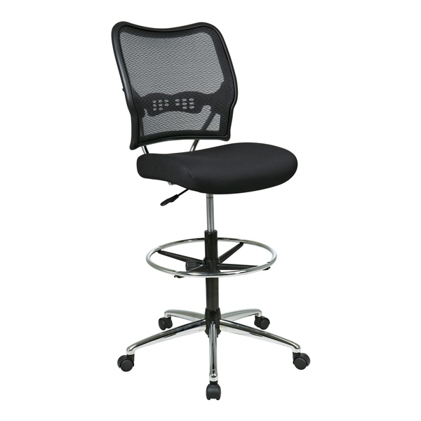 Deluxe AirGrid Back Drafting Chair with Mesh Seat