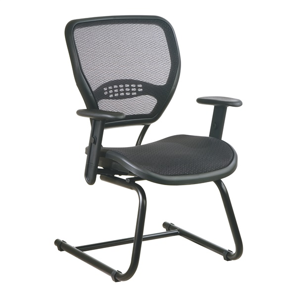 Deluxe Visitors Chair with AirGrid Seat and Back