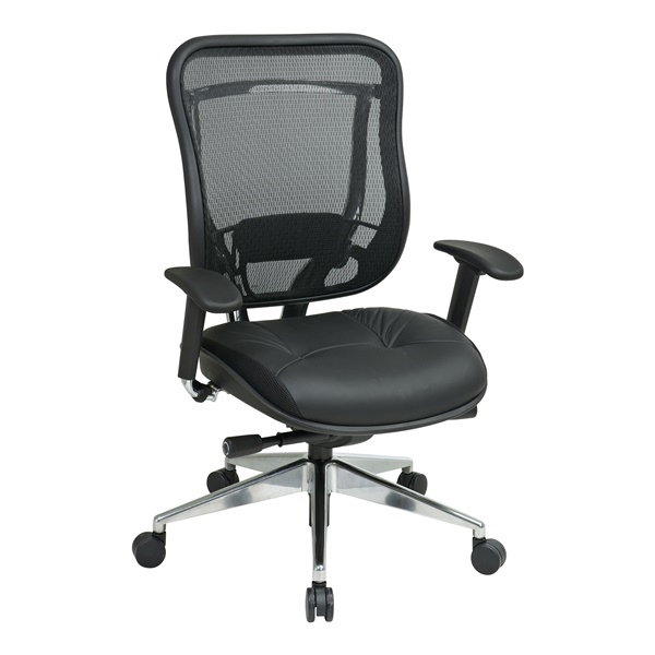 Executive High Back Chair in Black