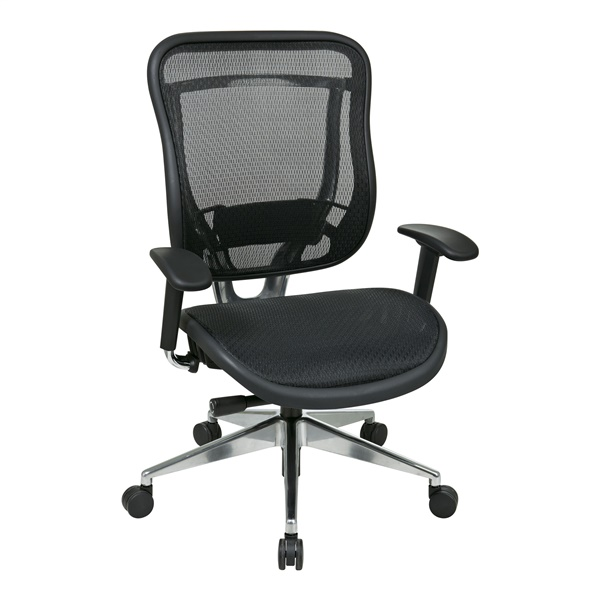 Executive High Back Chair with Breathable Mesh Back and Seat