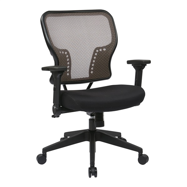 Latte AirGrid Back and Padded Mesh Seat Chair
