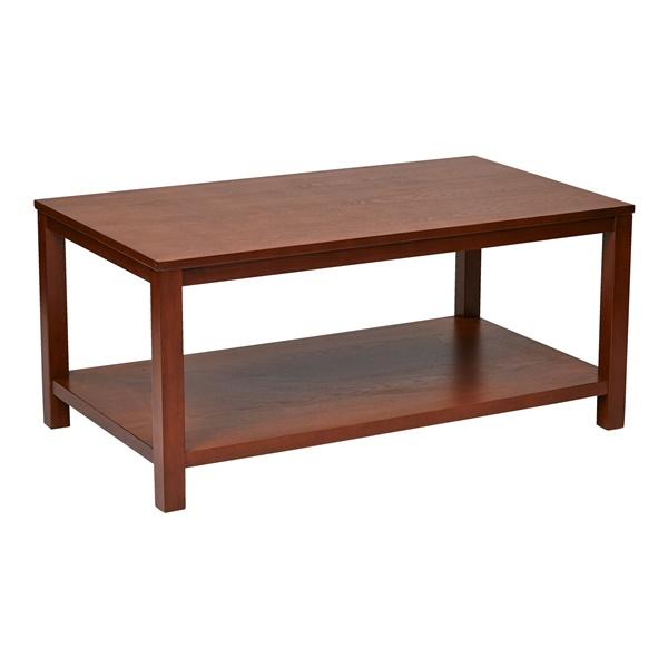 "Merge 42"" Rectangular Cocktail Table (Cherry)"