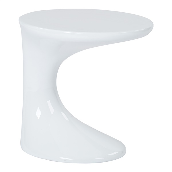 Slick Side Table (White)