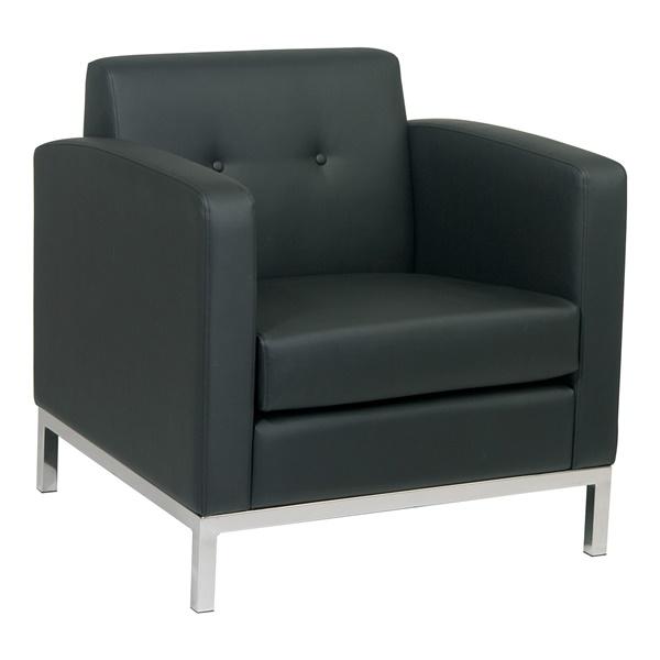 Wall Street Arm Chair (Black)
