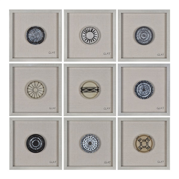 Buttons Wall Decor