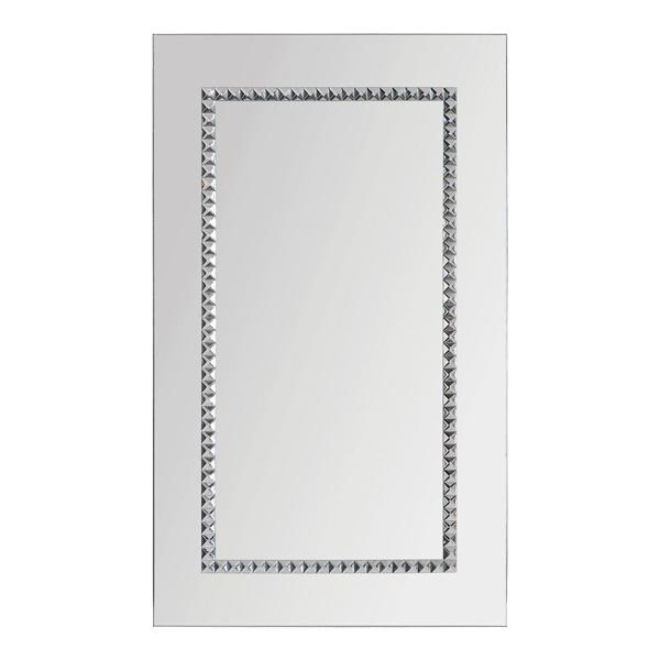 Embedded Jewels Mirror