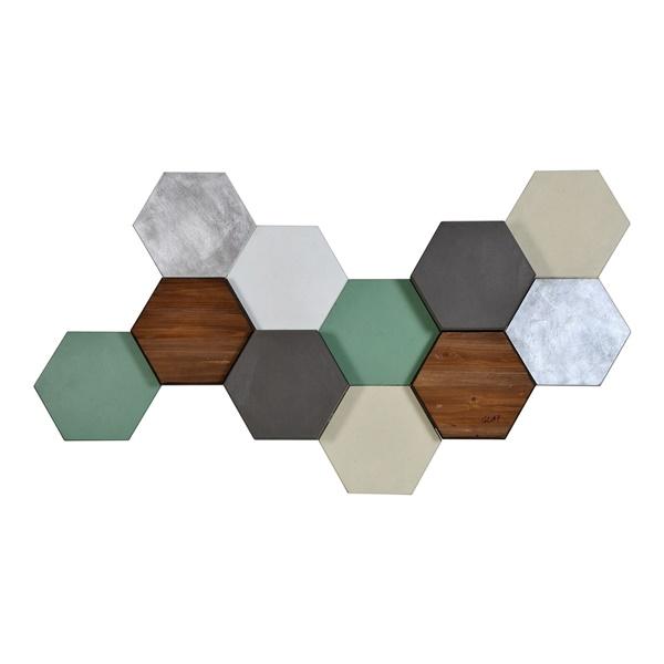 Hexa Pastel Wall Decor