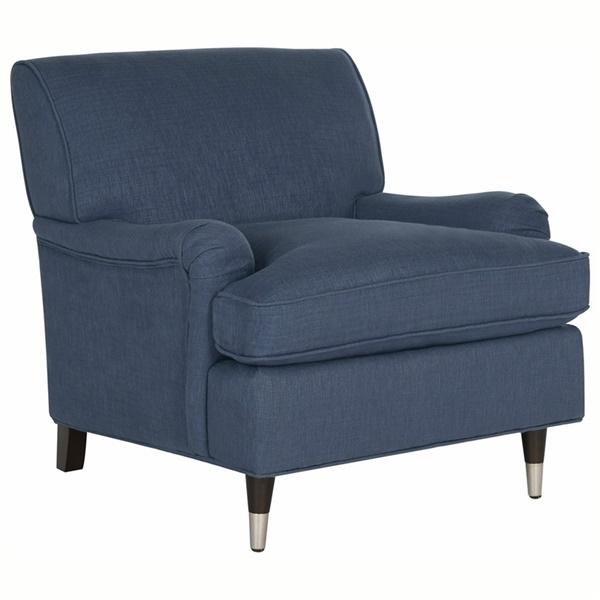 Chloe Club Chair (Black/White)