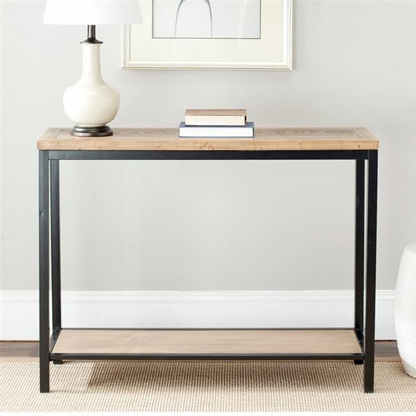 Dennis Console Table (Oak)