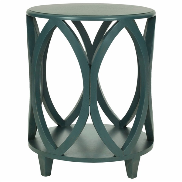 Janika Accent Table (Shady White)