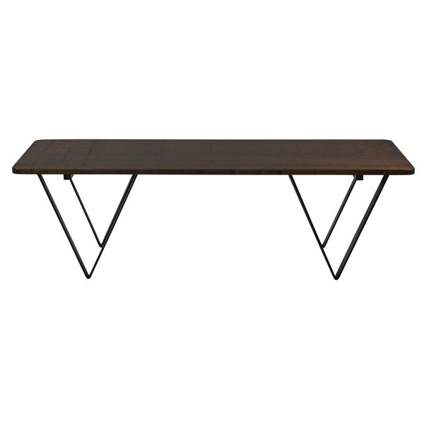 Harper Etched Cocktail Table (Walnut)