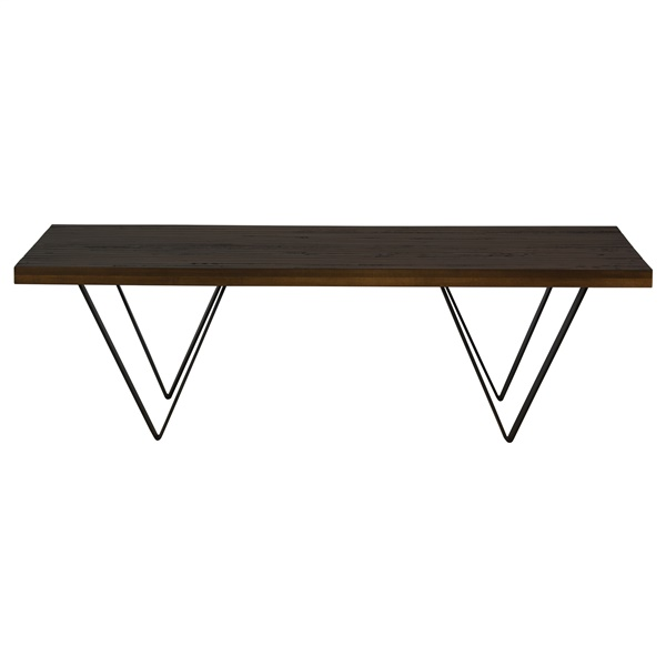Harper Hand-Planed Cocktail Table (Walnut)