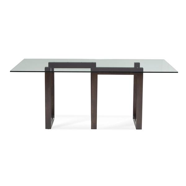 Serpent - Rectangular Glass Top Dining Table