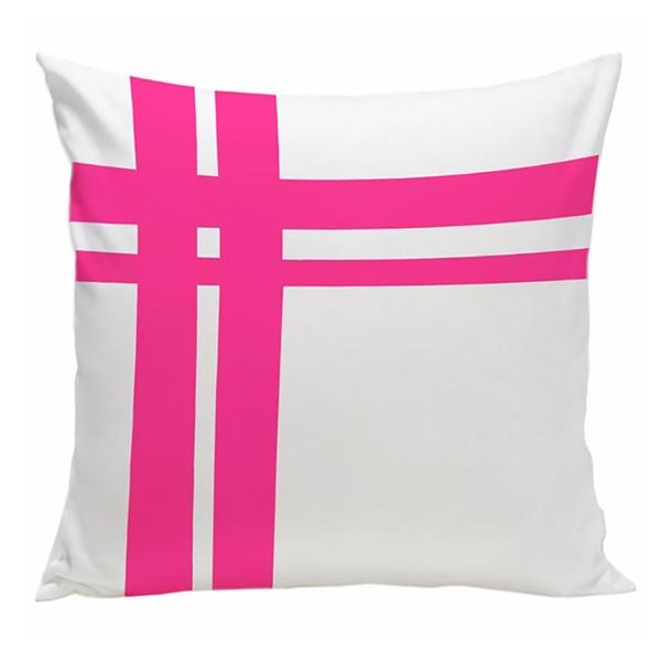 Hashtag Organic Pillow (Pink)