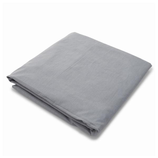 Organic Fitted Crib Sheet (White)